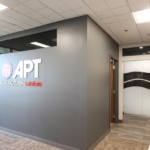 Dip-Tech Digitally Printed Glass Partition
